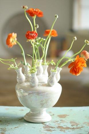 Ранункулюс в вазе