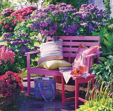 Июль в саду