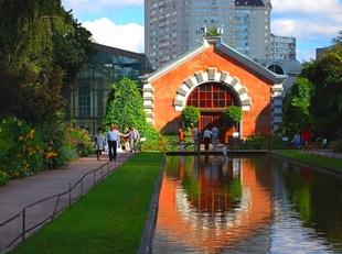 Здания малого Ботанического сада МГУ