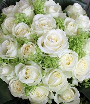 Белая роза - язык цветов