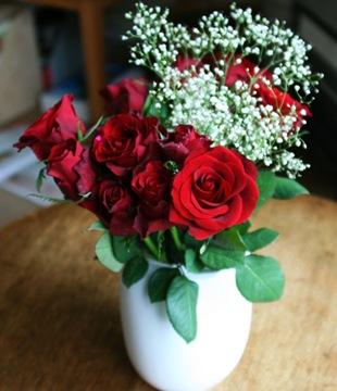 Красная роза  - язык цветов