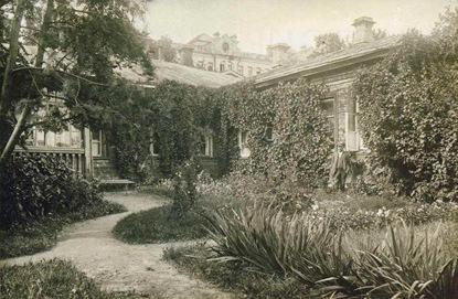 Ботанический сад МГУ в начале 20 века