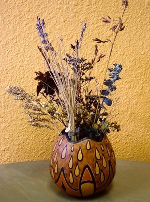 Сухоцветы в вазе
