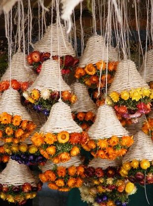 Букеты из сухих цветов